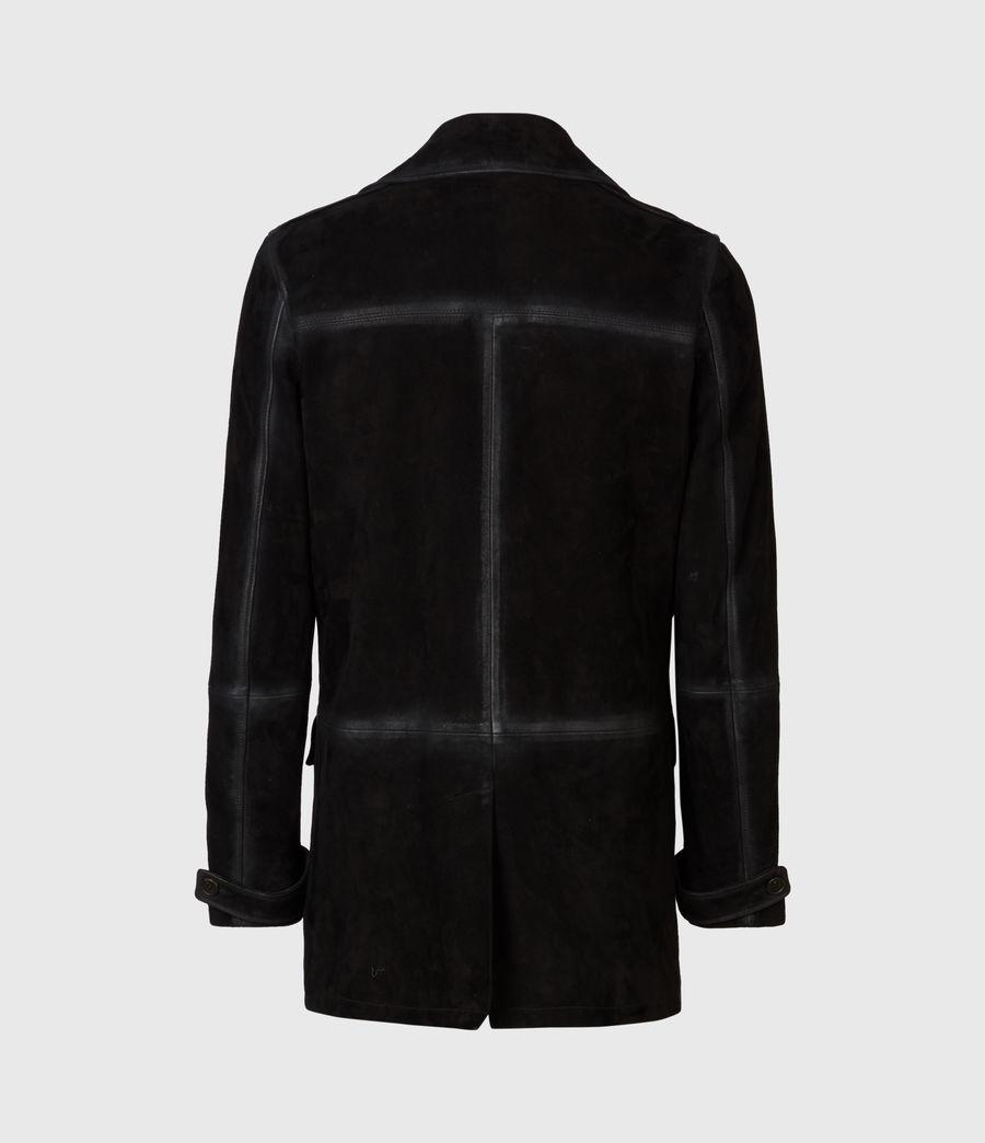 Men's Trebeck Suede Coat (black) - Image 3