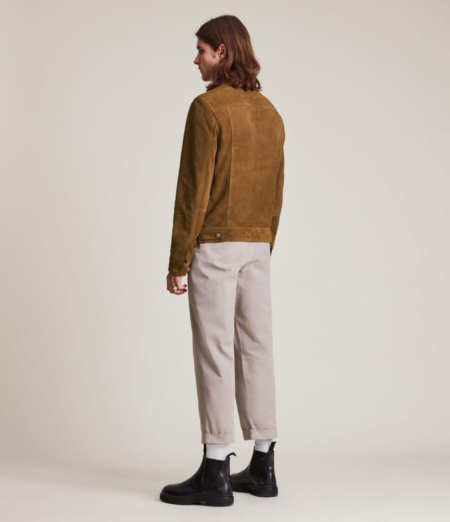 Mens Ashbrook Suede Jacket (camel) - Image 7