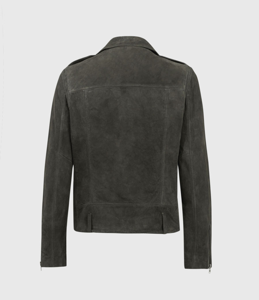 Men's Jadon Suede Biker Jacket (anthracite) - Image 2