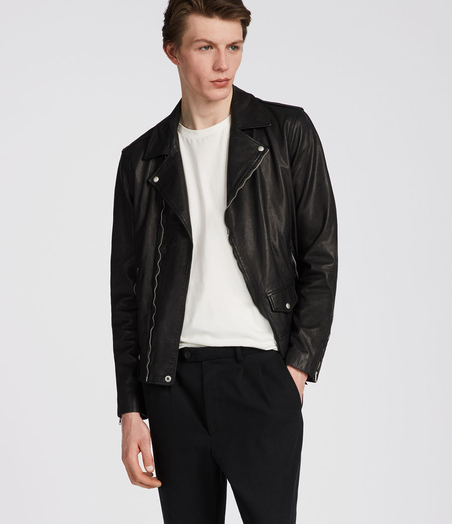 Men's Jace Biker (black) - Image 3