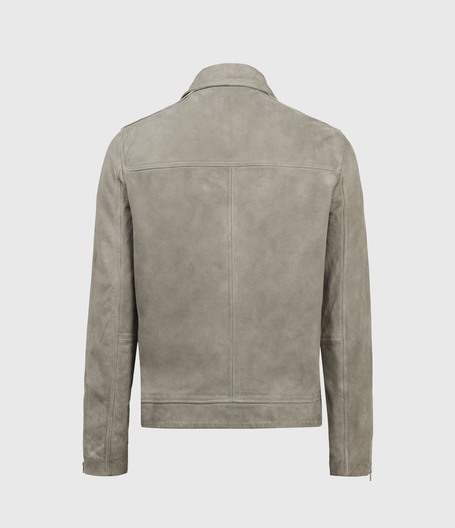Herren Hampden Suede Jacket (light_grey) - Image 2