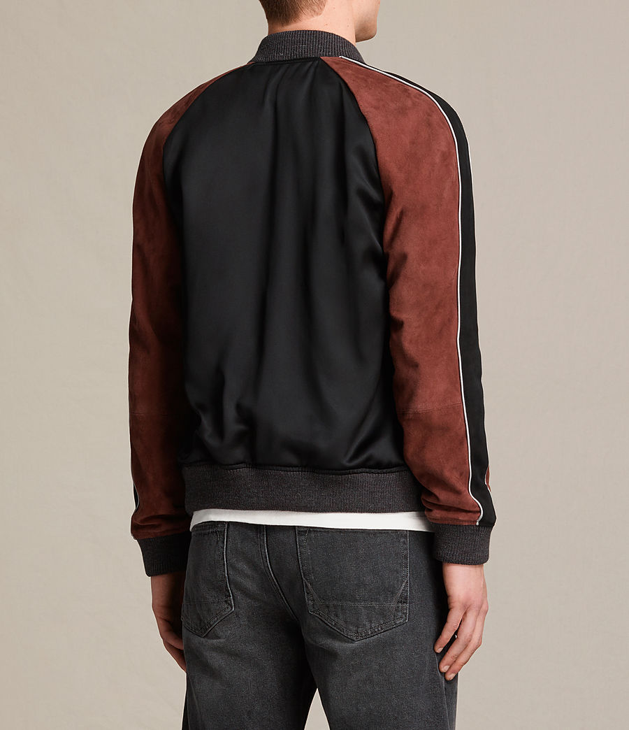 Hommes Bomber Atley (black_rust_red) - Image 8