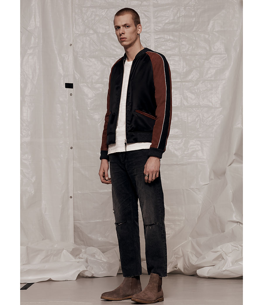Hommes Bomber Atley (black_rust_red) - Image 9