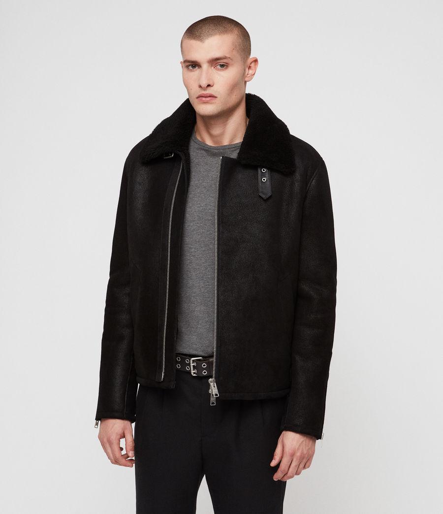 Men's Dekley Shearling Jacket (black) - Image 1