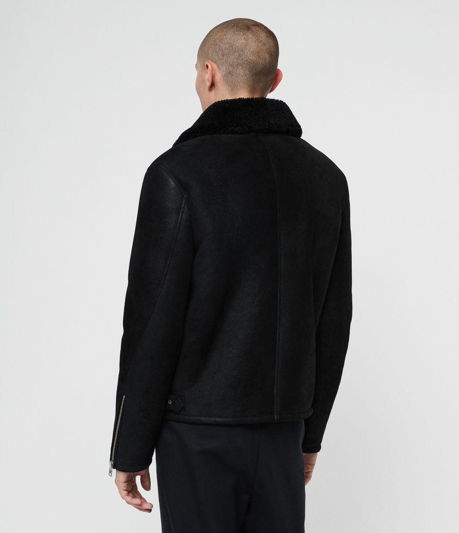 Men's Dekley Shearling Jacket (black) - Image 7
