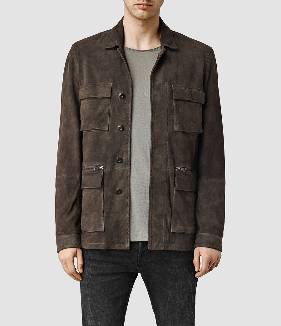 Uomo Civil Jacket (khaki_green) - Image 1