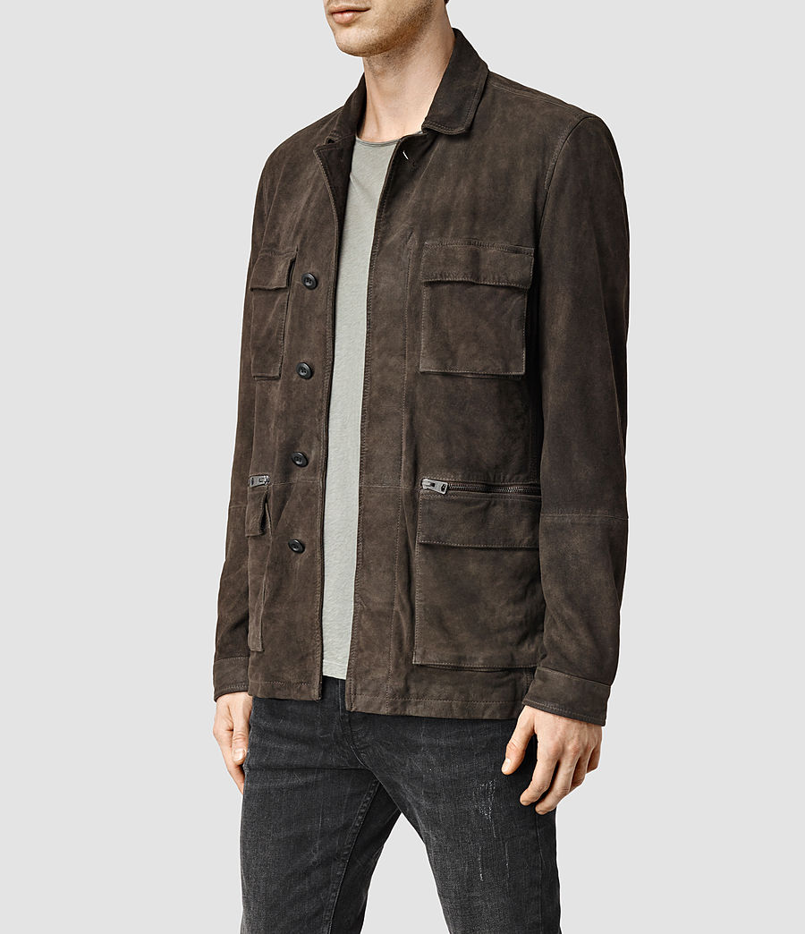 Uomo Civil Jacket (khaki_green) - Image 2