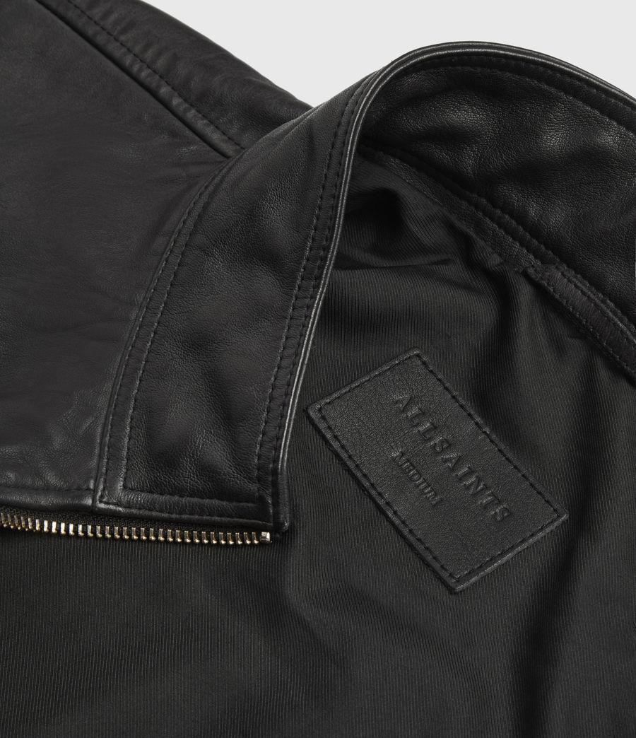 Men's Astoria Leather Jacket (black) - Image 6