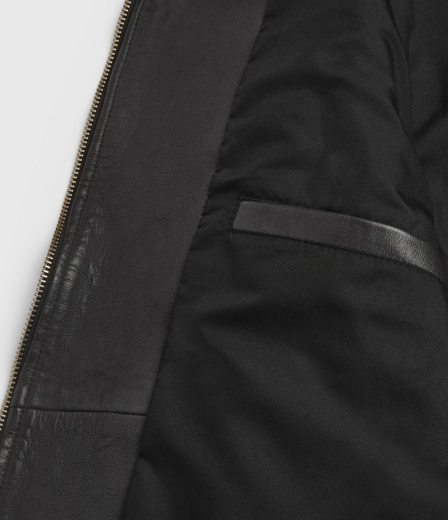 Men's Astoria Leather Jacket (black) - Image 7