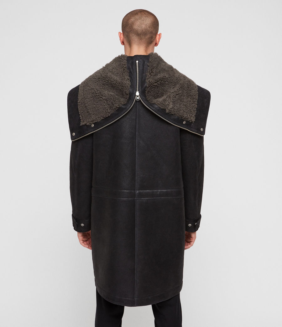 Hommes Parka Hartley (black_slate_grey) - Image 8