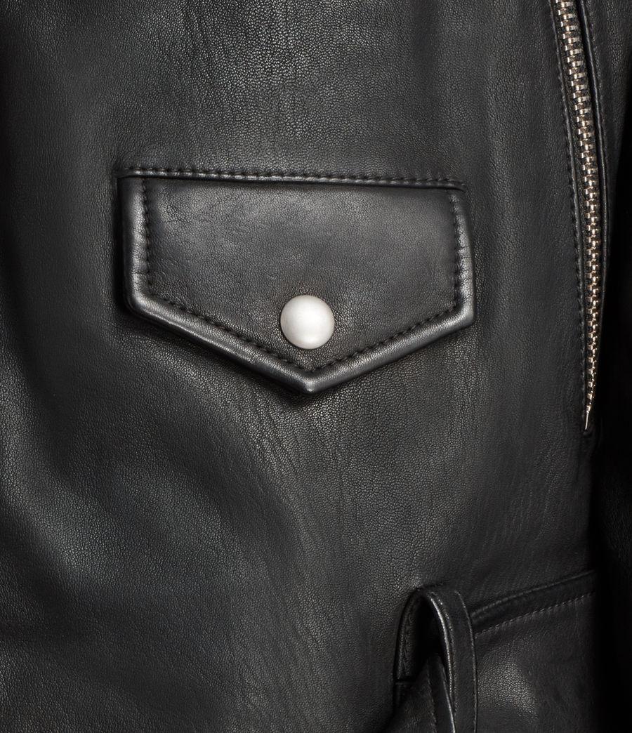 Uomo Giacca Stens Biker (black) - Image 3