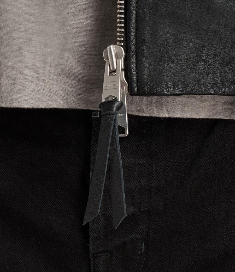 Uomo Giacca Stens Biker (black) - Image 6