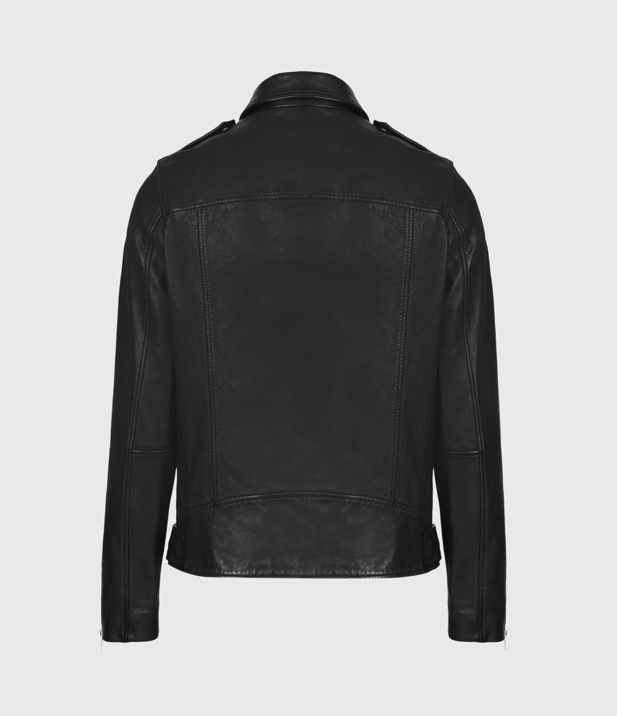 Men's Monza Leather Jacket (black) - Image 3
