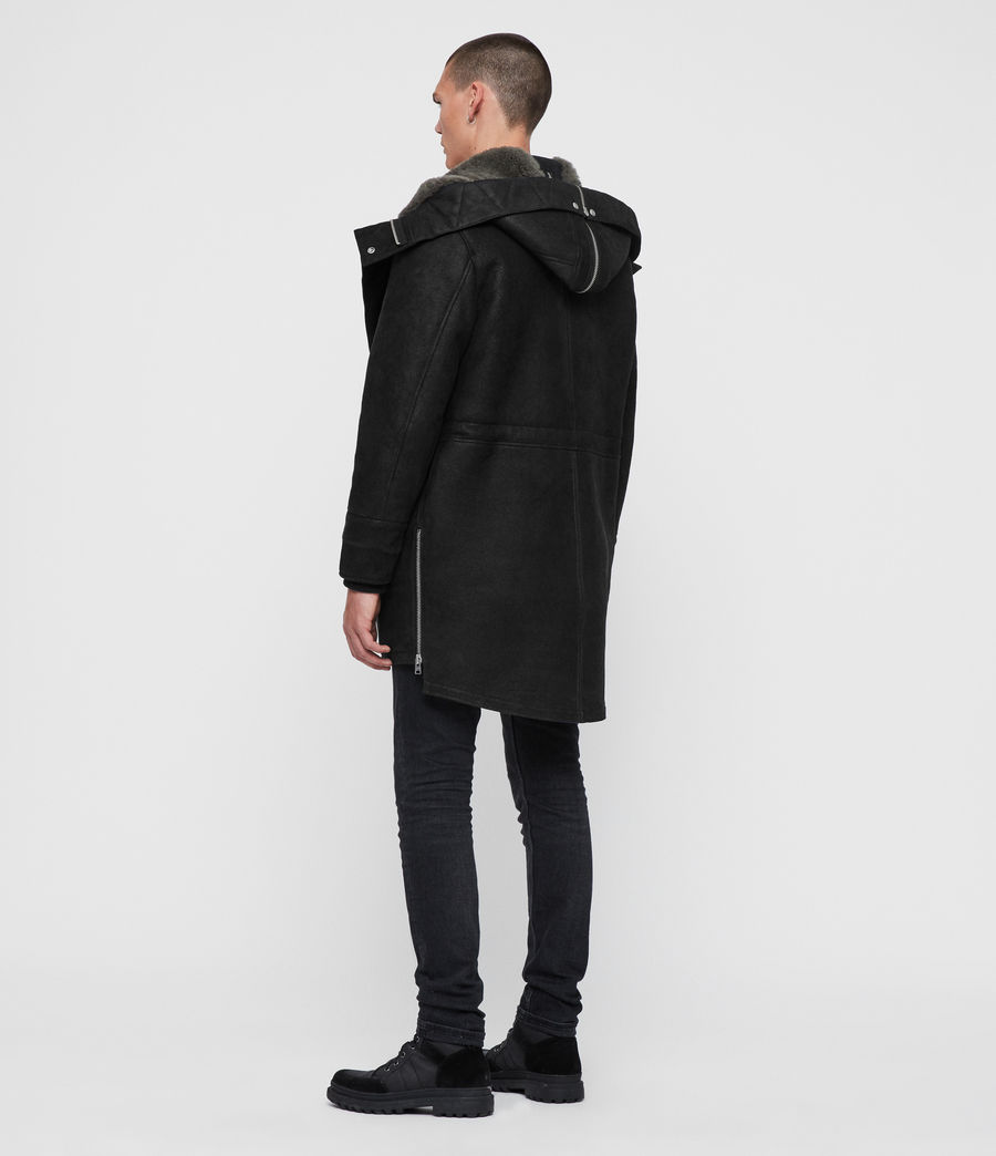 Men's Ramac Shearling Coat (black_slate_grey) - Image 7