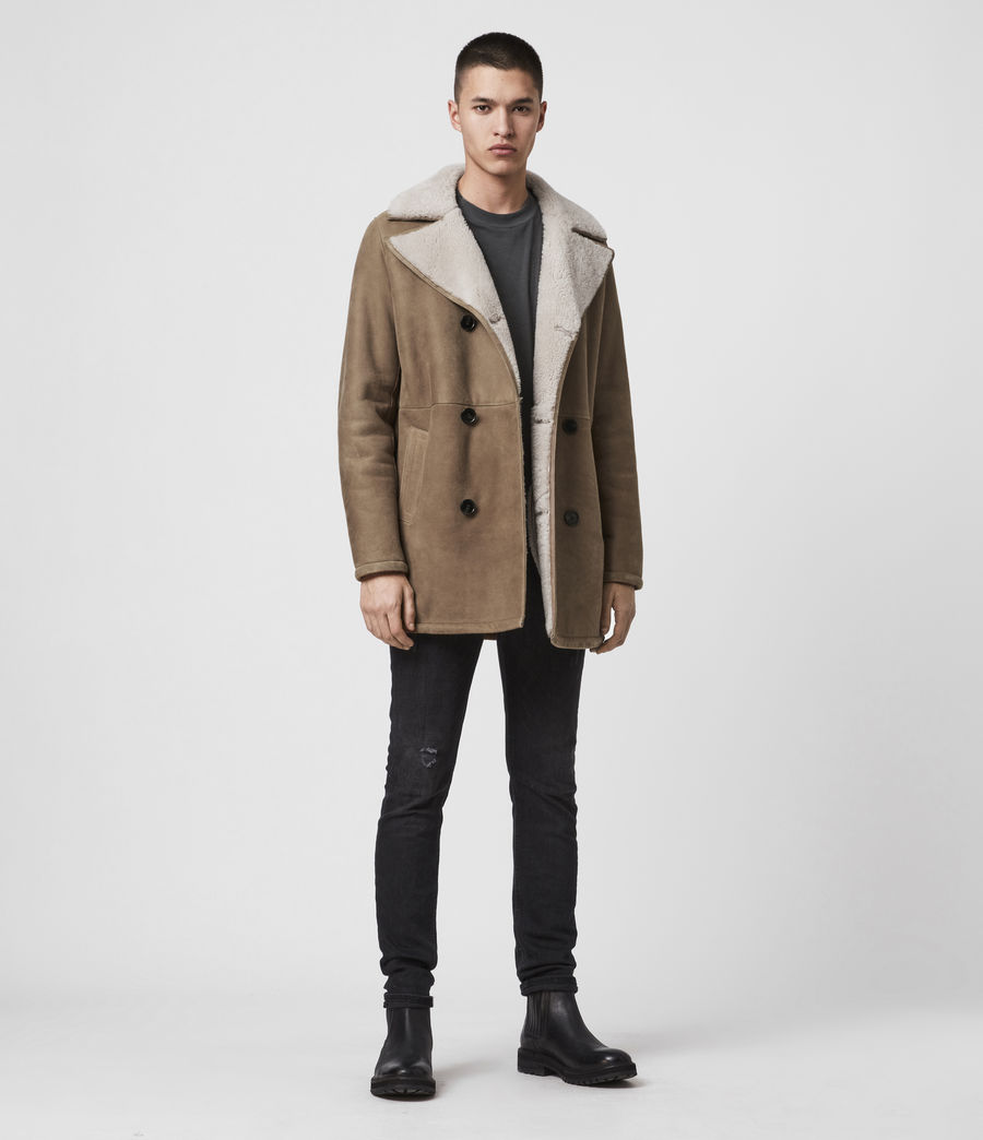 Men's Kenley Shearling Coat (tan_natural) - Image 3