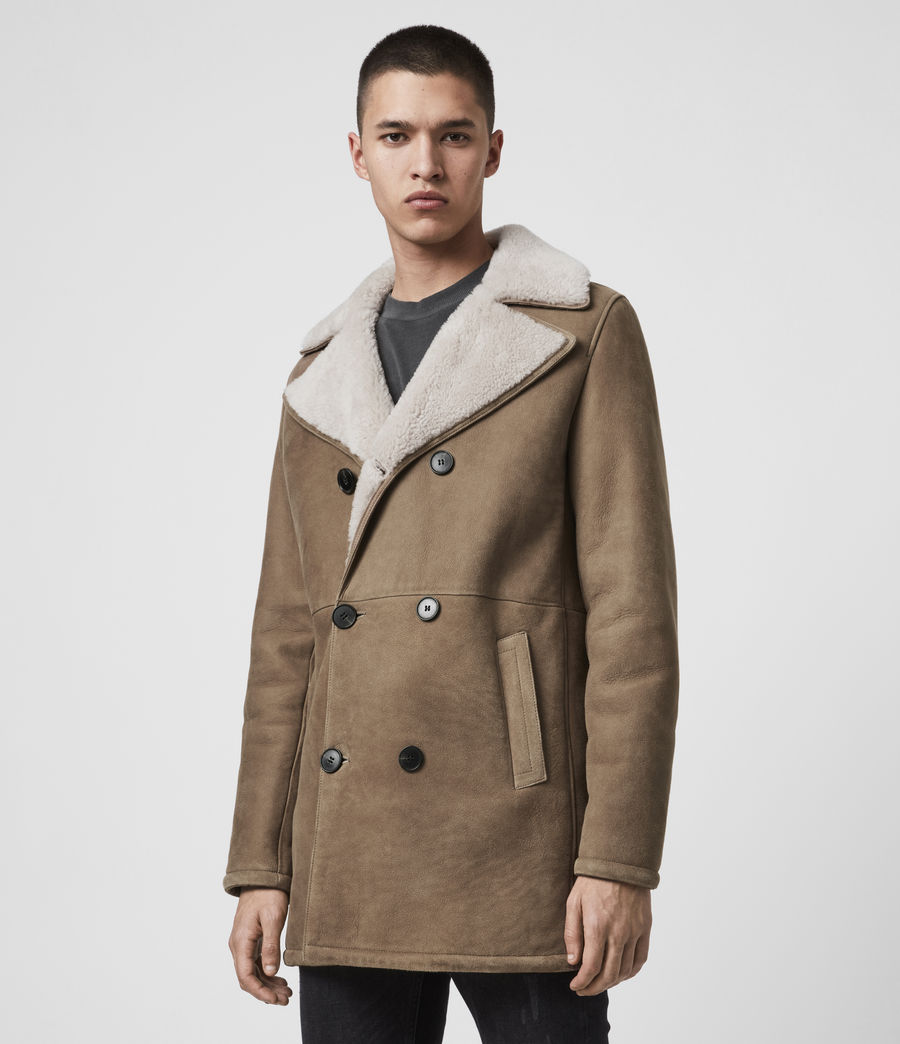 Men's Kenley Shearling Coat (tan_natural) - Image 5