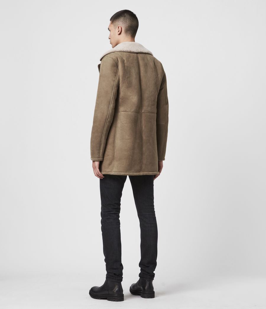 Men's Kenley Shearling Coat (tan_natural) - Image 6