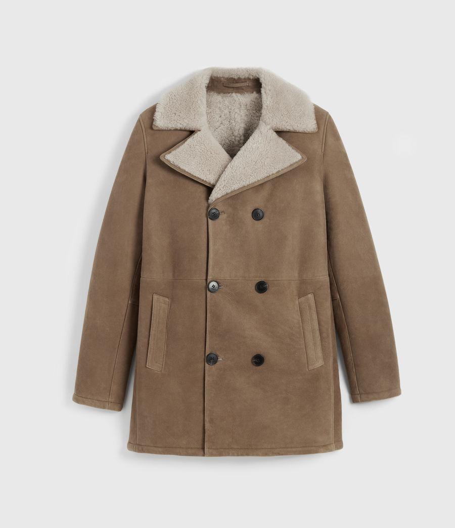 Men's Kenley Shearling Coat (tan_natural) - Image 8