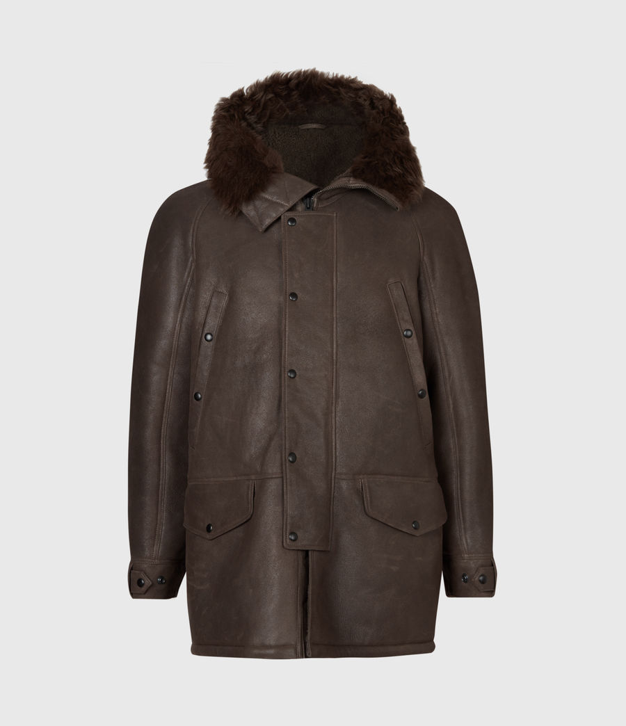 Men's Reidun Shearling Parka (military_green) - Image 2
