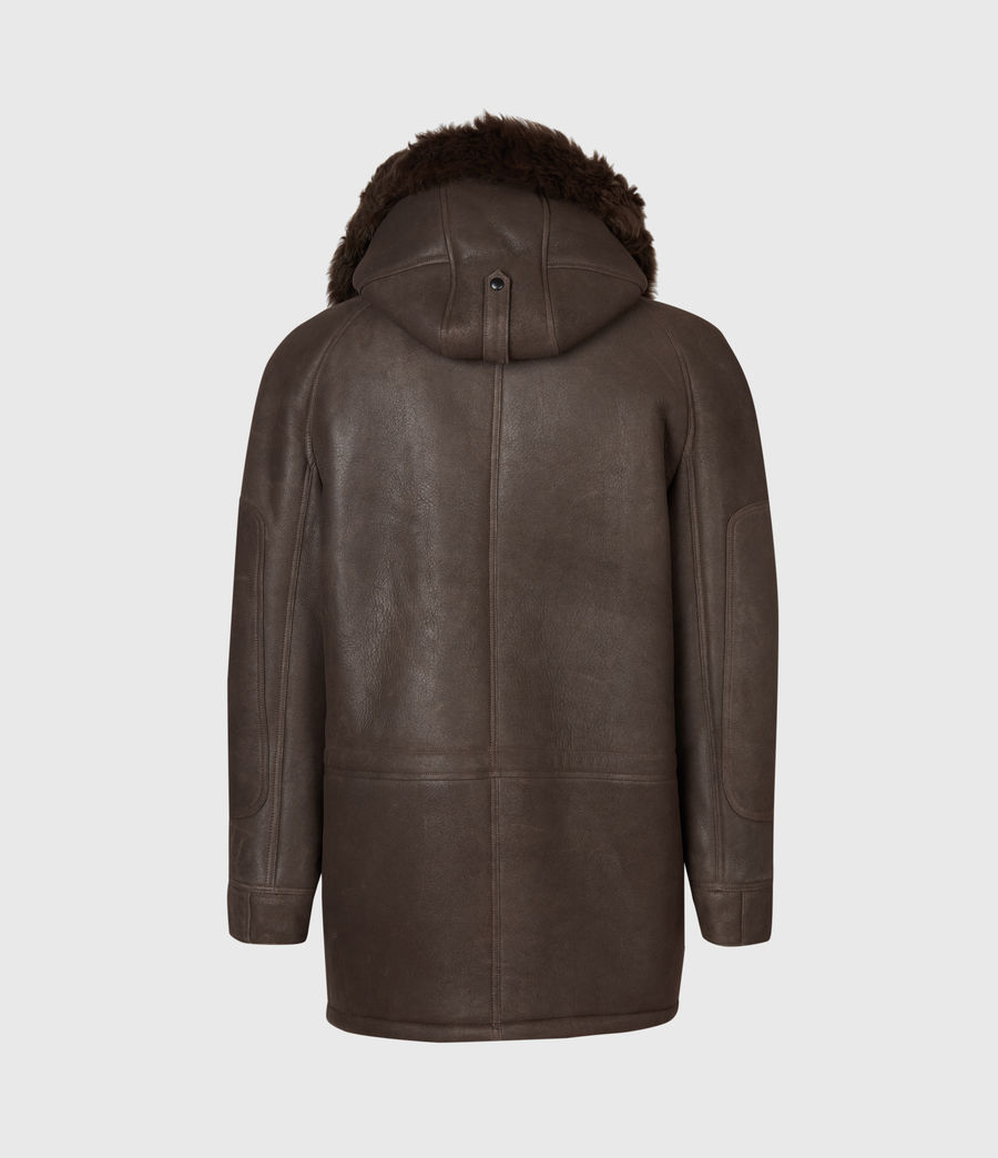 Men's Reidun Shearling Parka (military_green) - Image 3