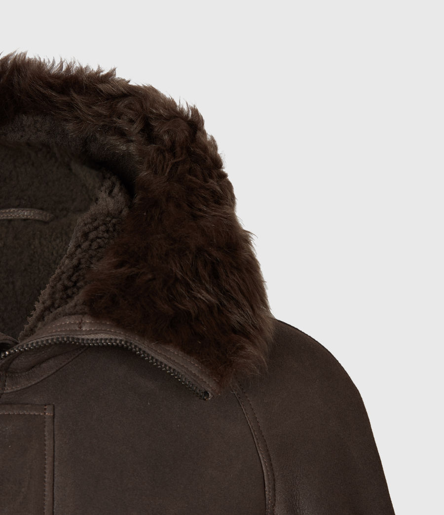 Men's Reidun Shearling Parka (military_green) - Image 5