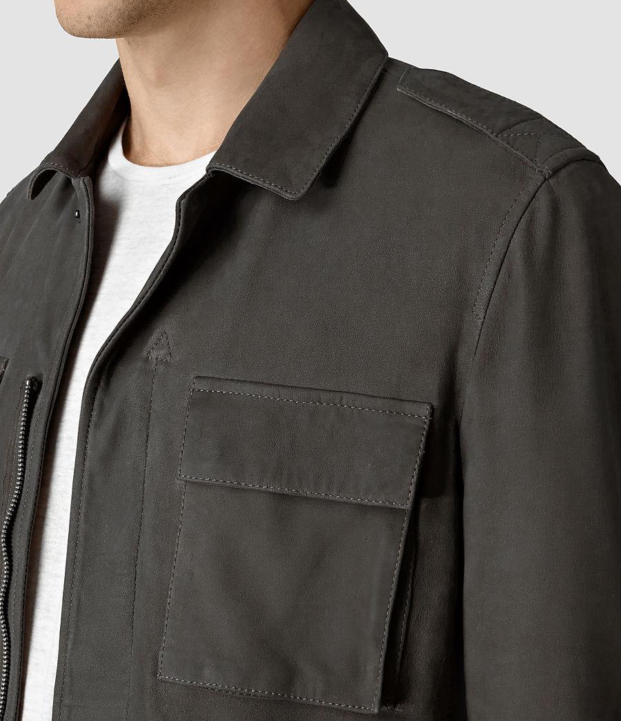 Hombre Rampart Suede Jacket (steel_grey) - Image 2