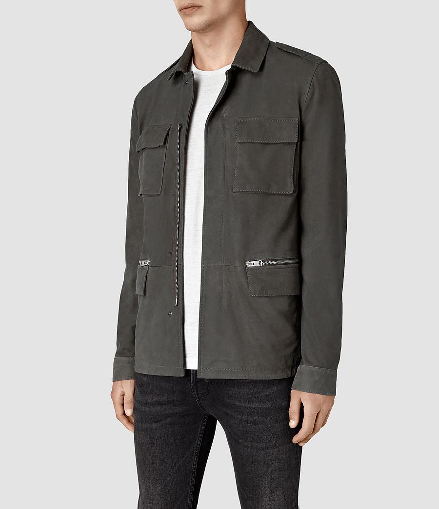 Hombre Rampart Suede Jacket (steel_grey) - Image 3