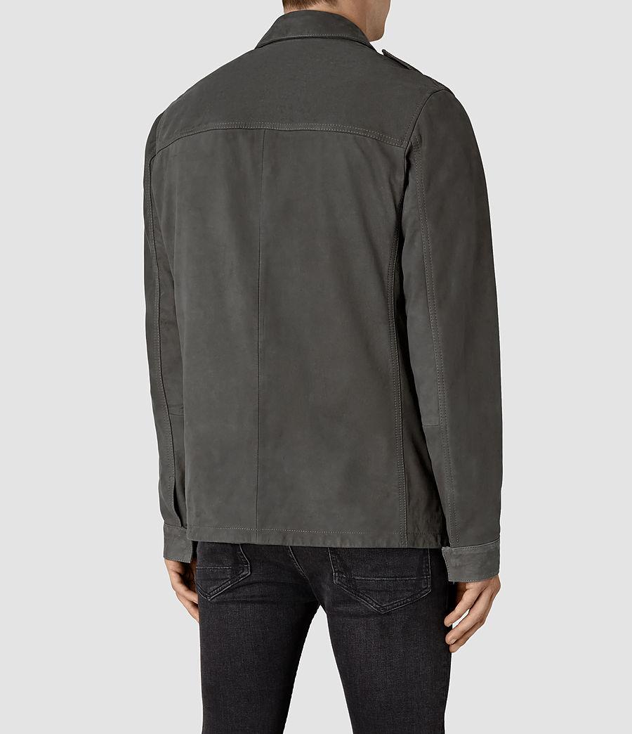 Hombre Rampart Suede Jacket (steel_grey) - Image 4