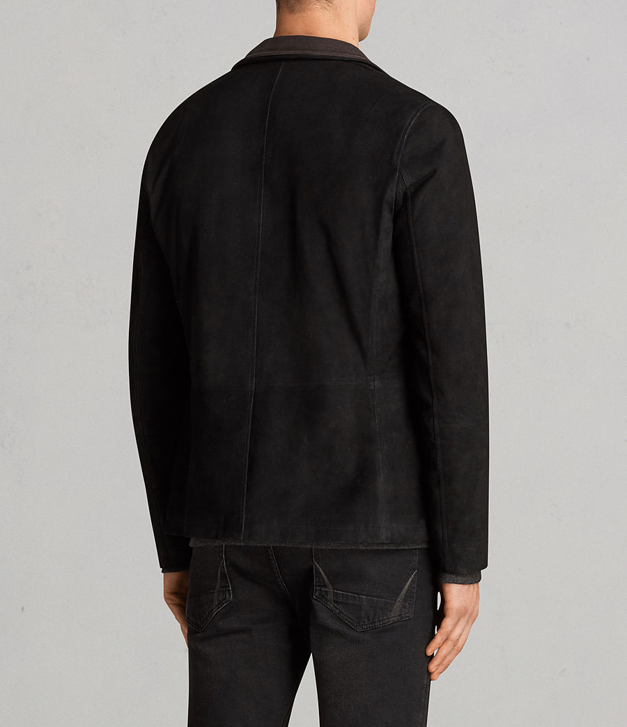 Men's Liath Suede Blazer (black) - Image 5