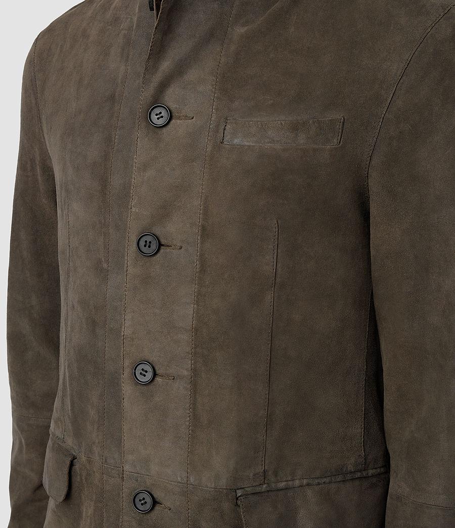 Men's Felton Suede Blazer (dark_slate_grey) - Image 4