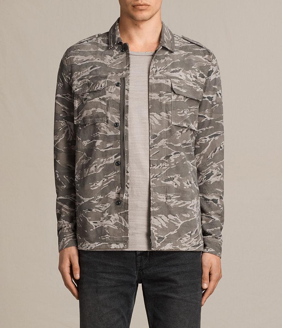 Hommes Chemise Esco (grey) - Image 1