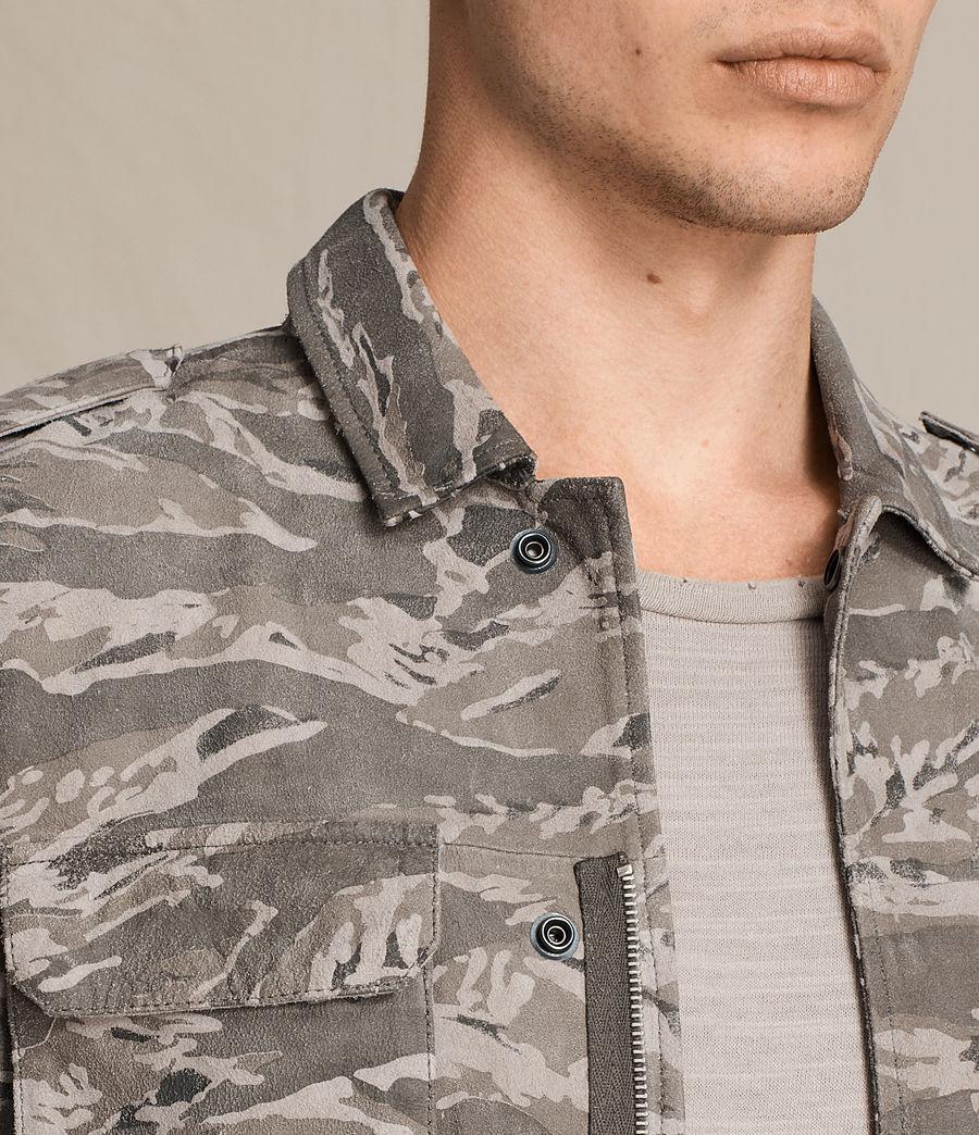 Hommes Chemise Esco (grey) - Image 2