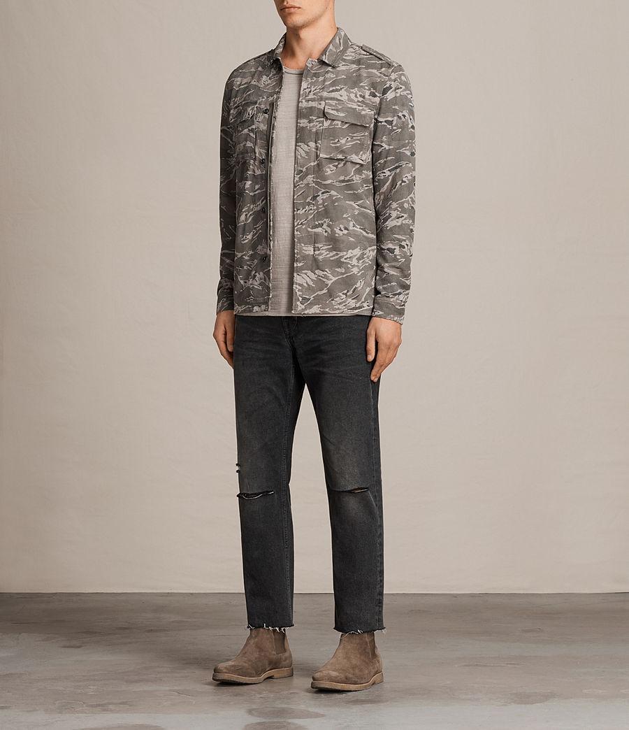 Hommes Chemise Esco (grey) - Image 3