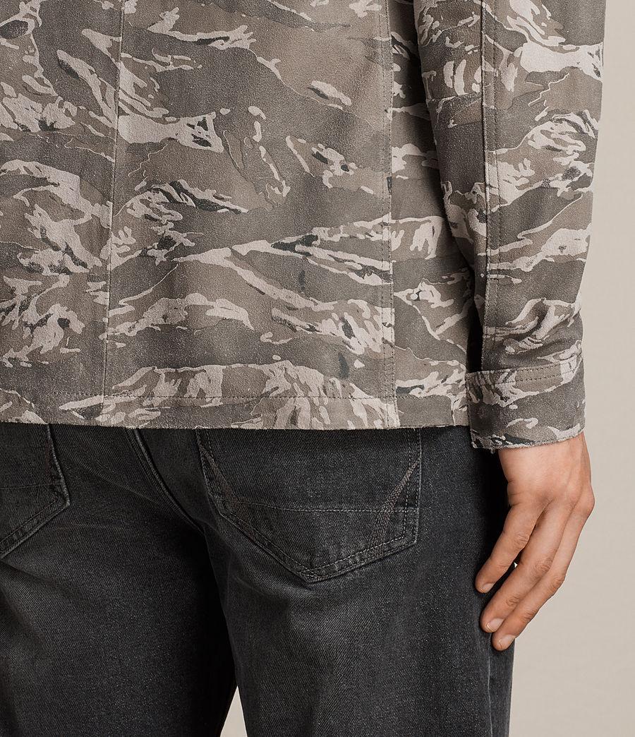 Hommes Chemise Esco (grey) - Image 6