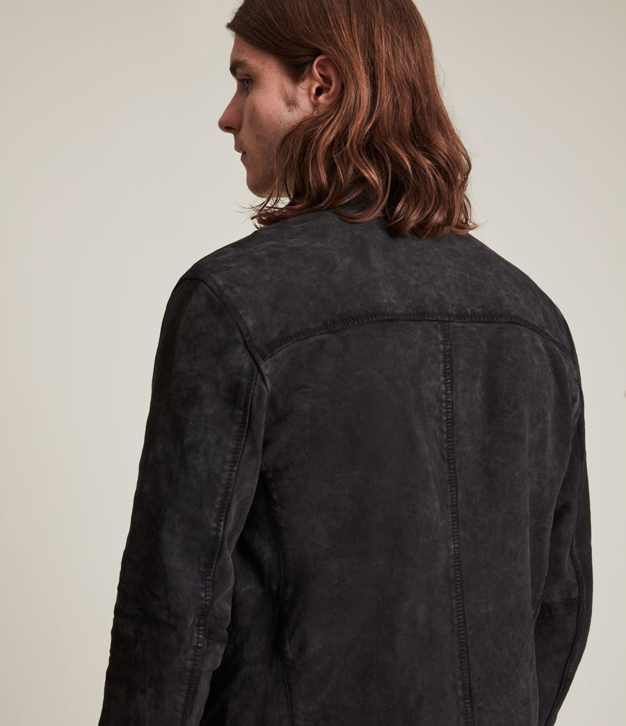 Hommes Malick Suede Jacket (charcoal) - Image 5