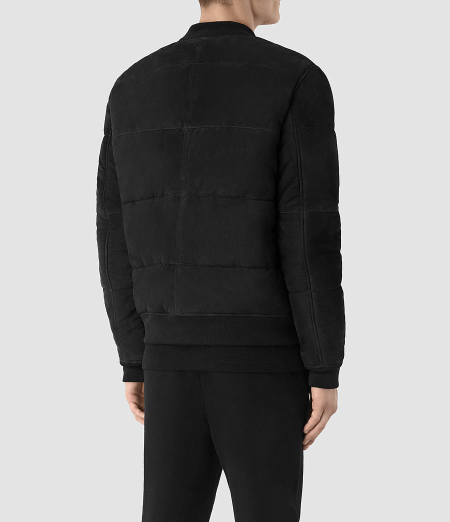 Hombre Chaqueta puffer en ante State (washed_black) - Image 5