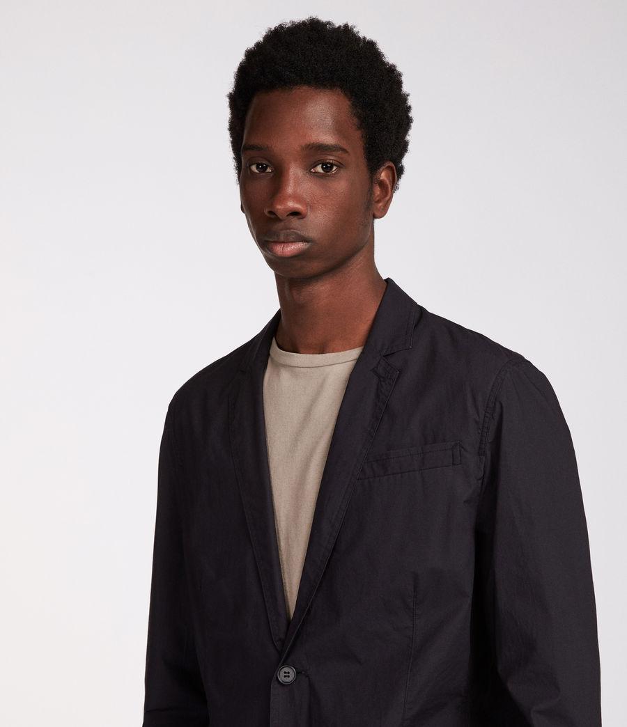 Men's Rohan Blazer (black) - Image 2