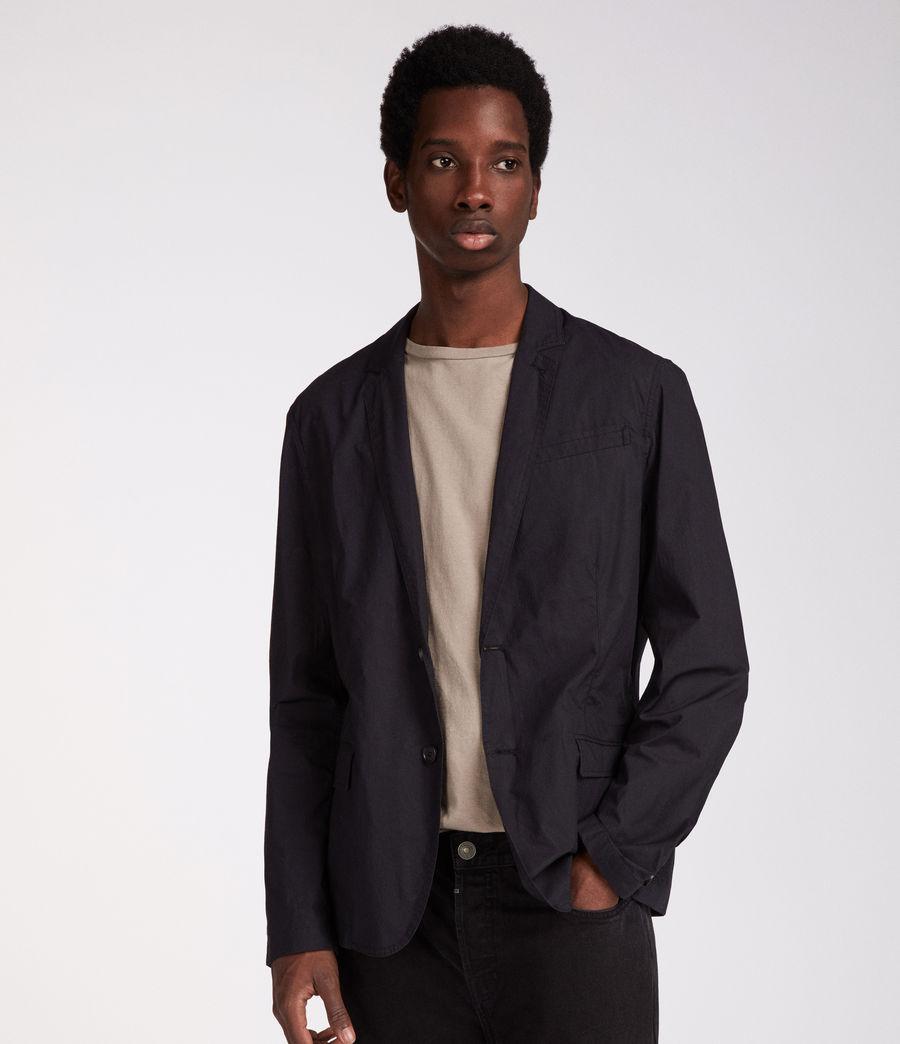 Men's Rohan Blazer (black) - Image 3
