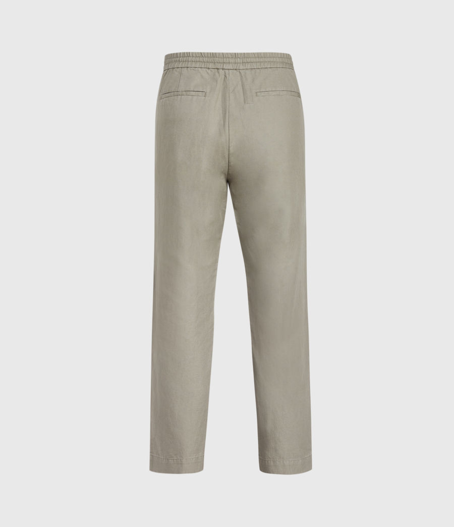 Hombres Luckett Cropped Slim Trousers (sage_grey) - Image 2