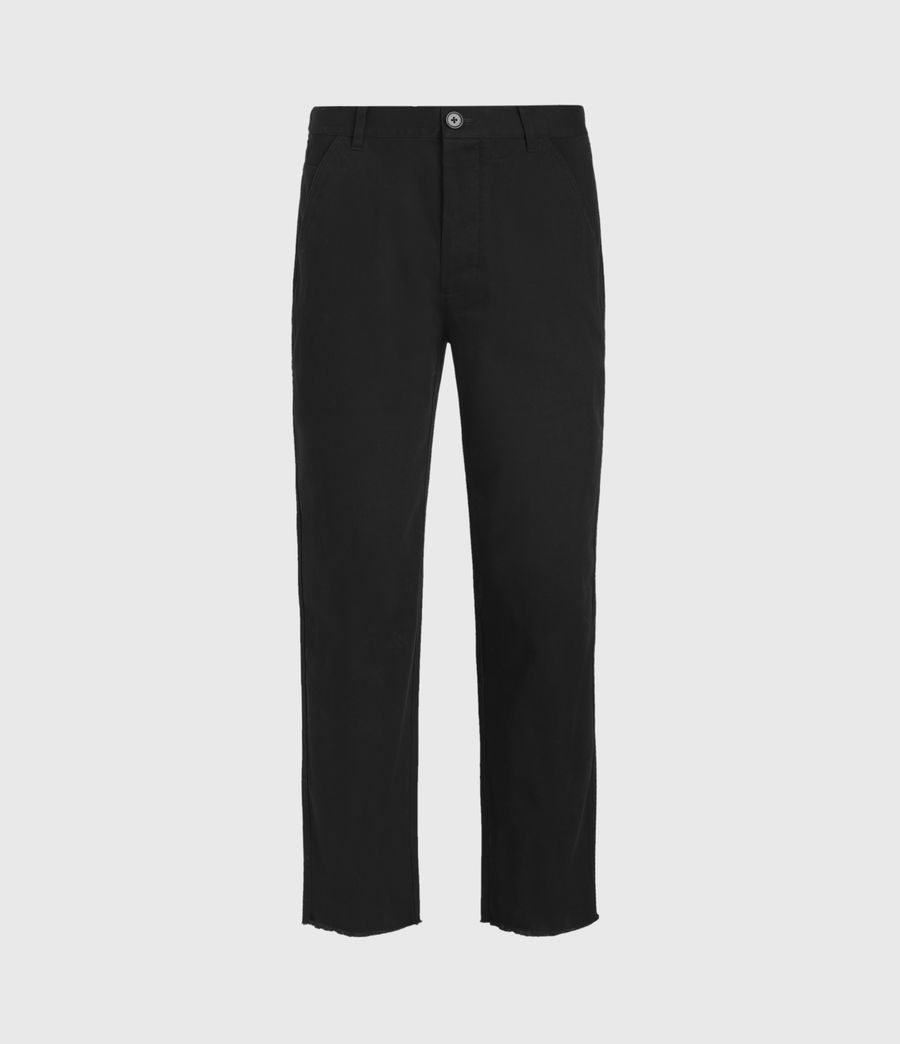 Men's Indus Straight Trousers (black) - Image 2