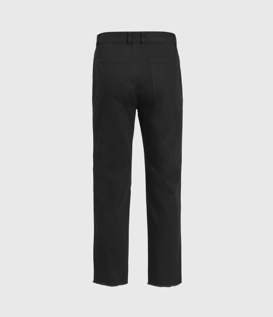 Men's Indus Straight Trousers (black) - Image 3