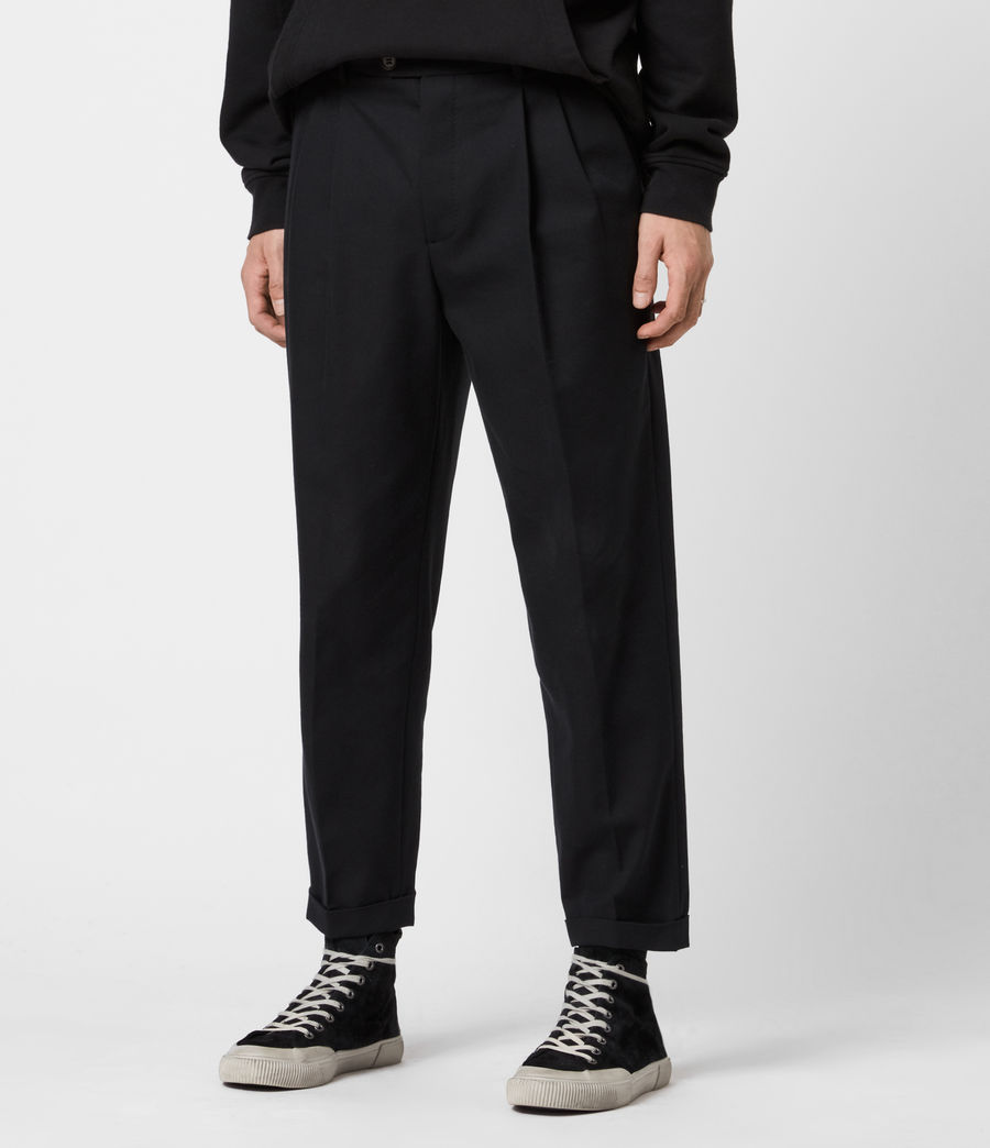 Men's Tallis Trousers (black) - Image 1