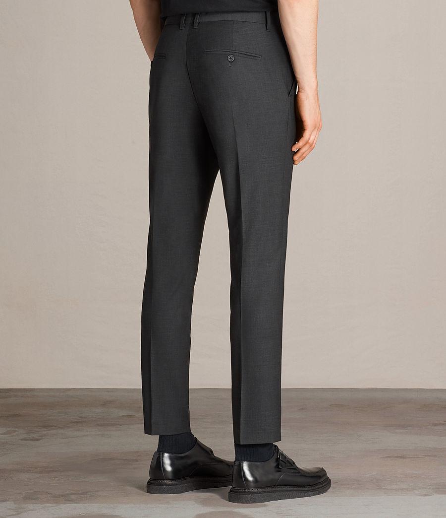Hombres Pantalones Vernon (charcoal_grey) - Image 4