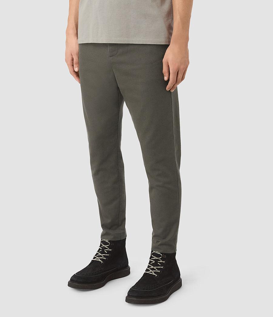 Uomo Silas Trouser (khaki_green) - Image 2