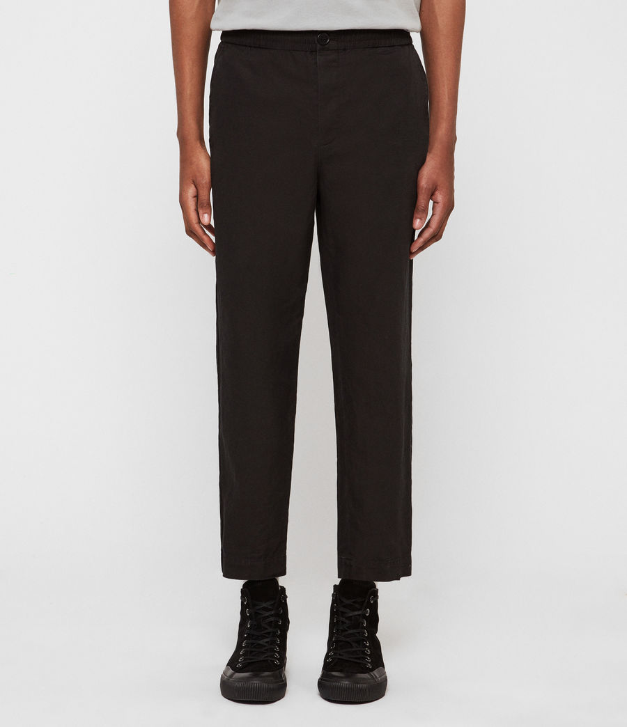 Hommes Pantalon Bellew (washed_black) - Image 1