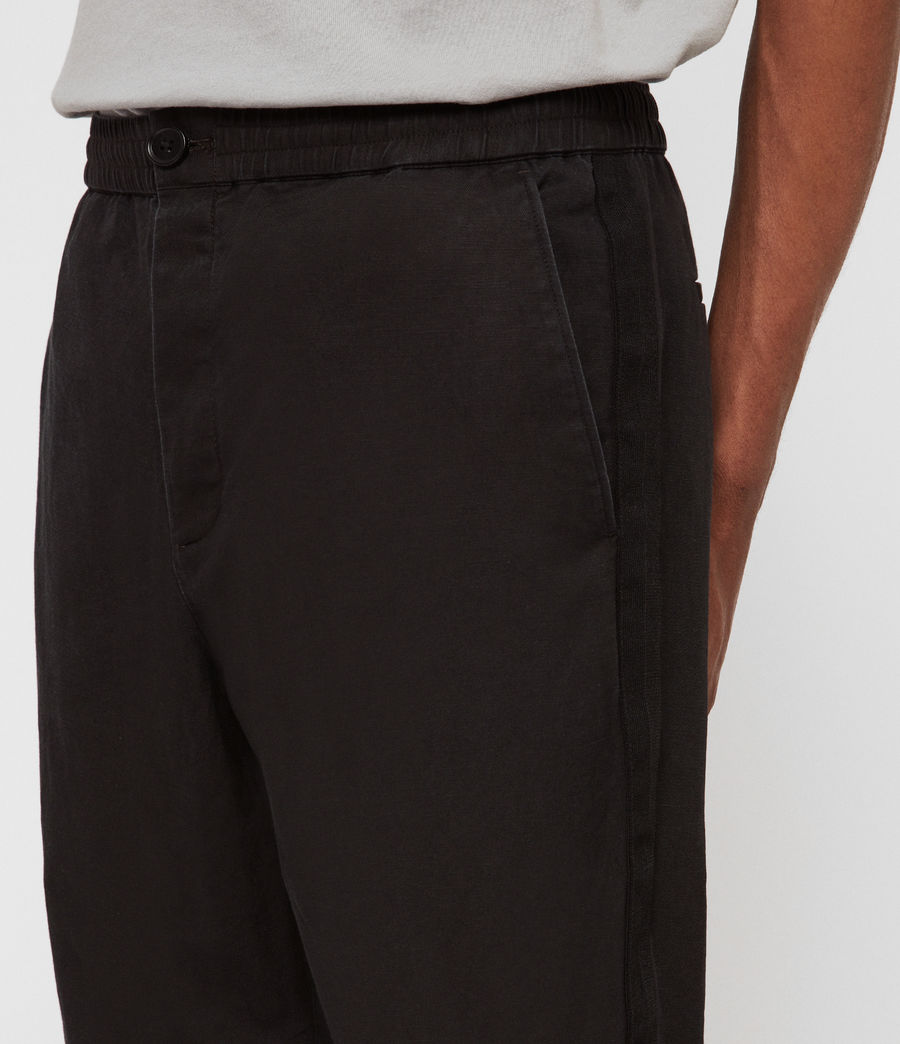 Hommes Pantalon Bellew (washed_black) - Image 2