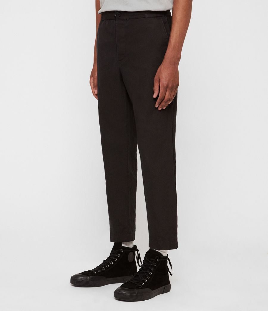Hommes Pantalon Bellew (washed_black) - Image 4