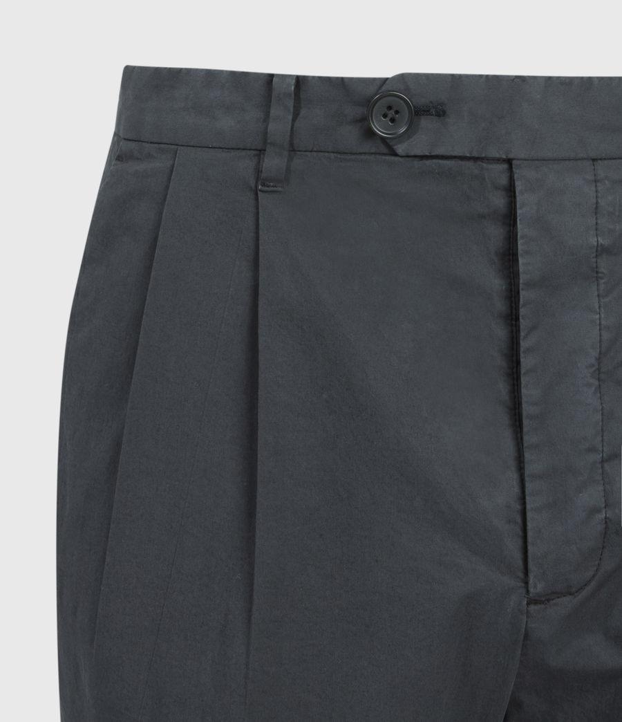 Men's Bengal Cropped Slim Trousers (basalt_grey) - Image 4