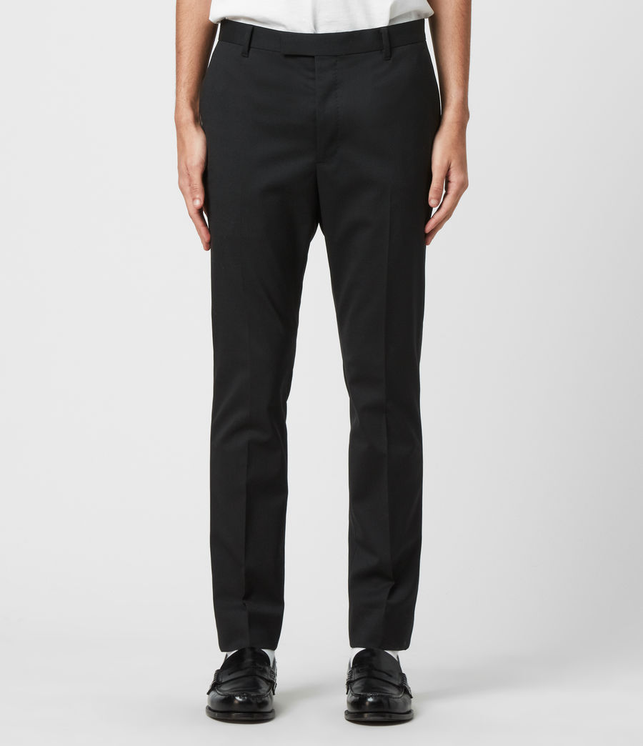 Men's Fulbeck Trousers (black) - Image 1