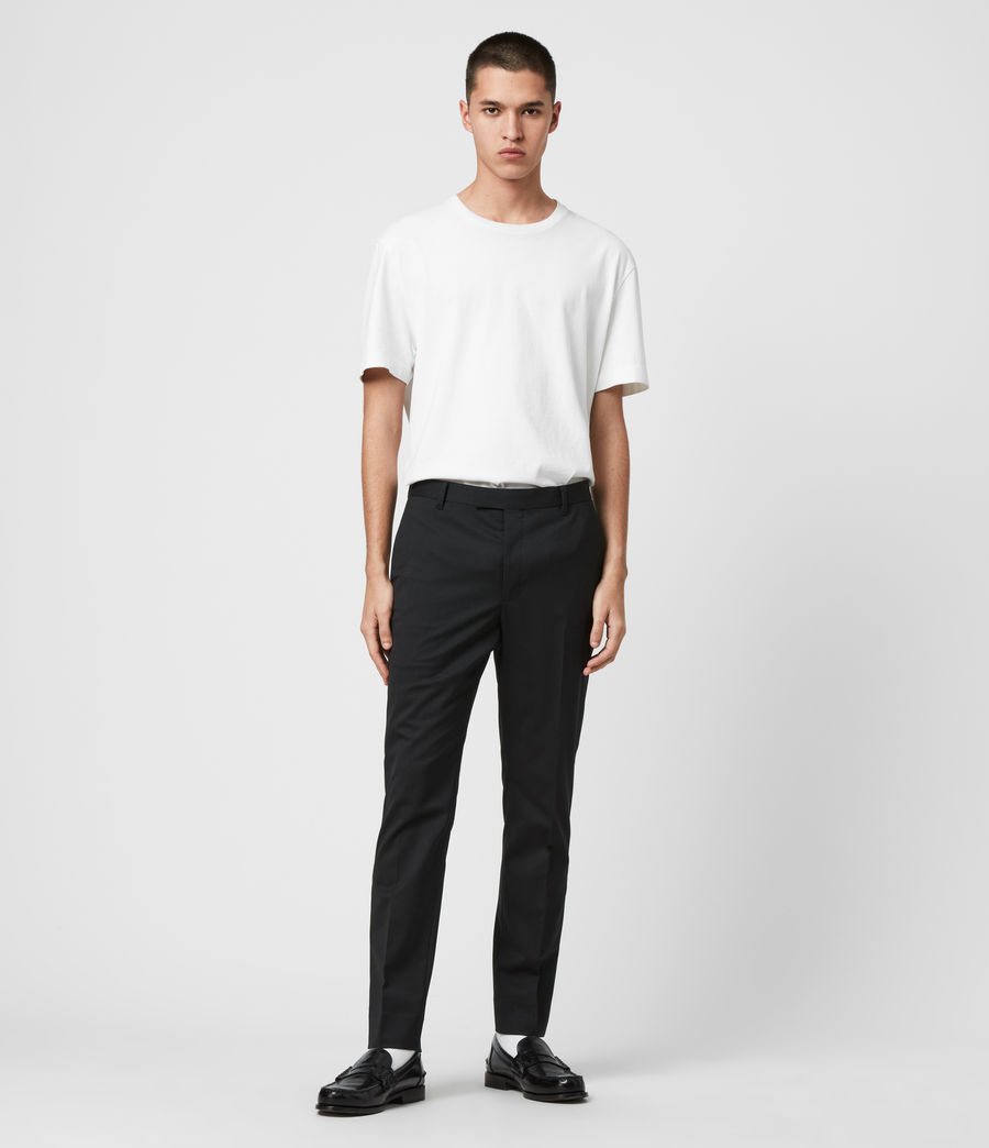 Men's Fulbeck Trousers (black) - Image 2